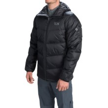 Mountain Hardwear Kelvinator Down Jacket - 650 Fill Power (For Men) in Black/Shark - Closeouts
