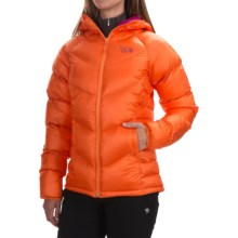 Mountain Hardwear Kelvinator Q.Shield® Down Jacket - 650 Fill Power (For Women) in Orange Zest/Deep Blush - Closeouts