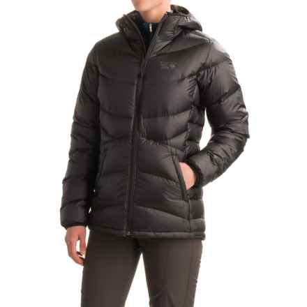 Mountain Hardwear Kelvinator Q.Shield® Down Jacket - 650 Fill Power, Hooded (For Women) in Black - Closeouts