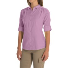 Mountain Hardwear Keralake Shirt - Button Front, Long Sleeve (For Women) in Red Plum - Closeouts