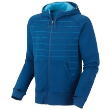Mountain Hardwear Kevalo Hoodie Sweatshirt - Zip (For Men) in Empire Blue - Closeouts