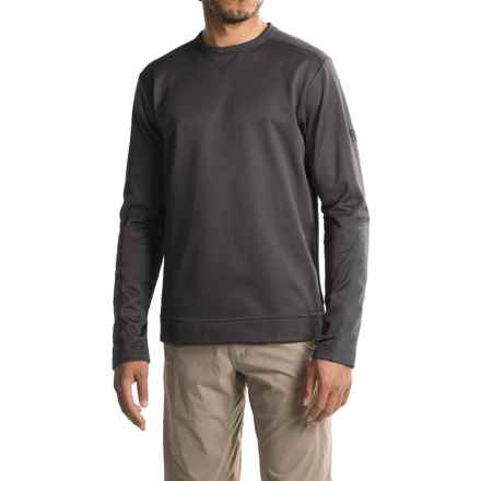 Mountain Hardwear Kiln Fleece Shirt - Long Sleeve (For Men) in Shark - Closeouts