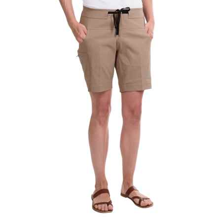 Mountain Hardwear Kofa Shorts (For Women) in Khaki - Closeouts