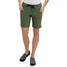 Mountain Hardwear Kofa Shorts (For Women) in Mosstone - Closeouts