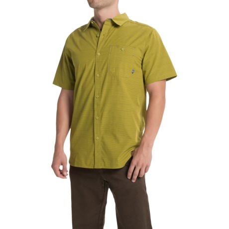 Mountain Hardwear Kotter Stripe Shirt Button Front, Short Sleeve (For Men)