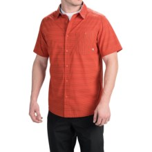 Mountain Hardwear Kotter Stripe Shirt - Short Sleeve (For Men) in State Orange - Closeouts