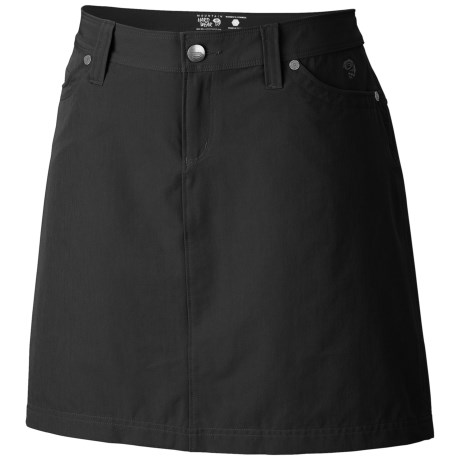Mountain Hardwear La Strada Skirt - UPF 50, Stretch Nylon Twill (For Women) in Black