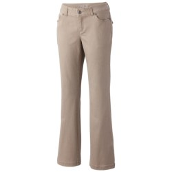 Mountain Hardwear LaCarta Pants - Stretch Cotton Twill (For Women) in Khaki