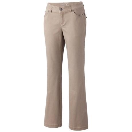 Mountain Hardwear LaCarta Pants - Stretch Cotton Twill (For Women) in Khaki