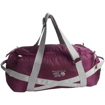 "Mountain Hardwear Lightweight Expedition Duffel Bag - 30"" in Dark Raspberry - Closeouts"