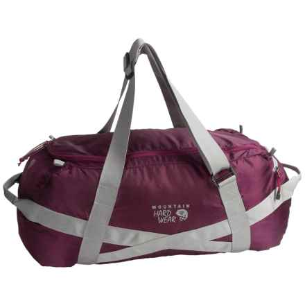 Mountain Hardwear Lightweight Expedition Duffel Bag - 90L in Dark Raspberry - Closeouts