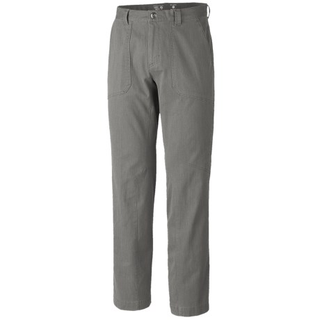 Mountain Hardwear Loafer Pants (For Men) in Titanium