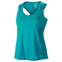 Mountain Hardwear Lochvale Tank Top - Slub Jersey, Racerback (For Women) in Lake Blue - Closeouts