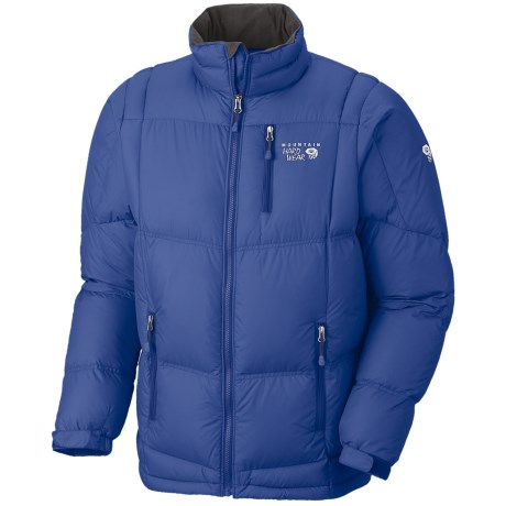 Mountain Hardwear Lodown Down Jacket - 650 Fill Power (For Men) in Royal