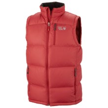 Mountain Hardwear LoDown Down Vest - 650 Fill Power (For in Red Velvet - Closeouts