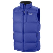 Mountain Hardwear LoDown Down Vest - 650 Fill Power (For in Royal - Closeouts