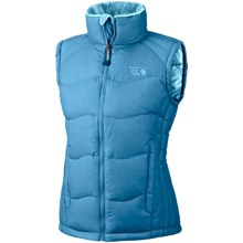 Mountain Hardwear Lodown Down Vest - 650 Fill Power (For Women) in Oxide Blue - Closeouts