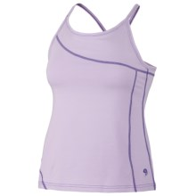 Mountain Hardwear Loess Tank Top - Organic Cotton, Cross-Over Straps (For Women) in Morning Mist - Closeouts