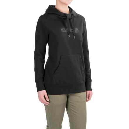 Mountain Hardwear Logo Hoodie (For Women) in Black/Graphite - Closeouts