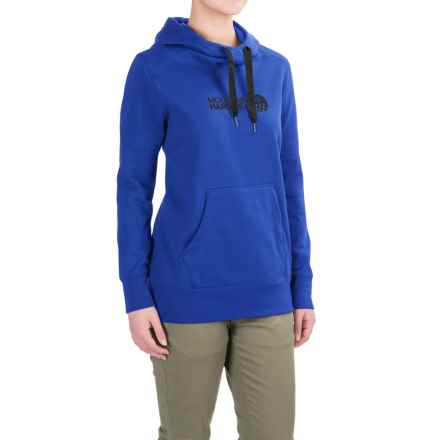 Mountain Hardwear Logo Hoodie (For Women) in Bright Island Blue - Closeouts