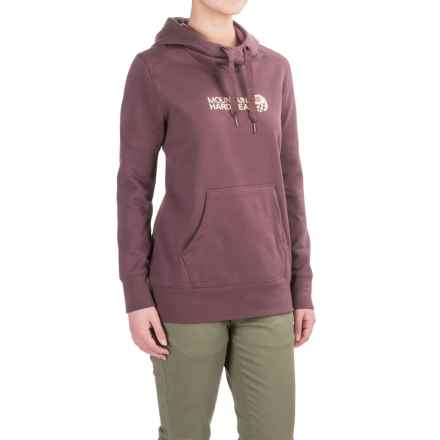 Mountain Hardwear Logo Hoodie (For Women) in Purple Plum - Closeouts