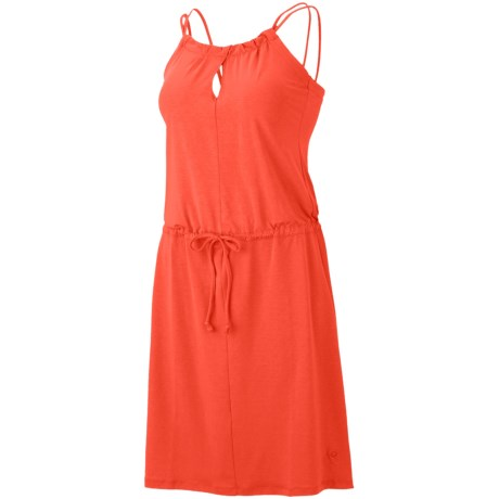 Mountain Hardwear Lucania Dress - Stretch Jersey, Sleeveless (For Women) in Corange