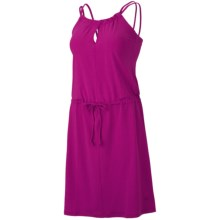 Mountain Hardwear Lucania Dress - Stretch Jersey, Sleeveless (For Women) in Deep Blush - Closeouts
