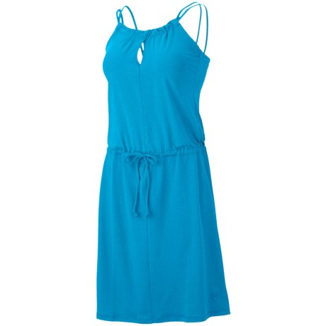 Mountain Hardwear Lucania Dress - Stretch Jersey, Sleeveless (For Women) in Skybox
