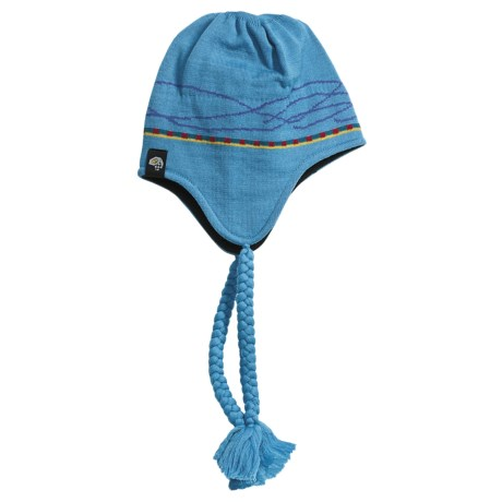 Mountain Hardwear Lunetta Dome Hat - Wool (For Women) in Oasis Blue