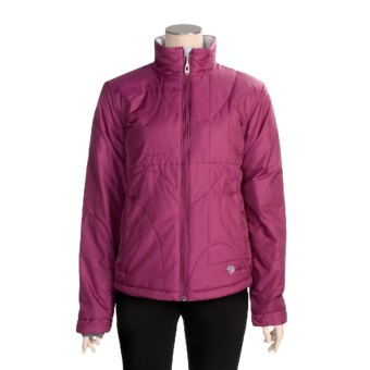 Mountain Hardwear Lunetta Jacket - Insulated (For Women) in Berry Soda