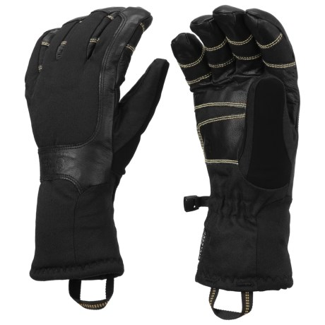 Mountain Hardwear Maia Gloves - Waterproof, Insulated (For Women) in Black