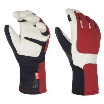Mountain Hardwear Maia Gloves - Waterproof, Insulated (For Women) in Red