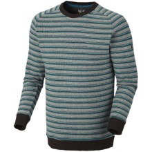 Mountain Hardwear Mantega Stripe Sweater - Recycled Wool (For Men) in Deep Water - Closeouts