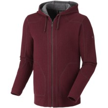Mountain Hardwear Mazeno Peak Hoodie Sweatshirt - Recycled Wool (For Men) in Shiraz - Closeouts