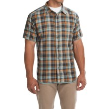 Mountain Hardwear McClatchy Reversible Shirt - Short Sleeve (For Men) in Shark - Closeouts
