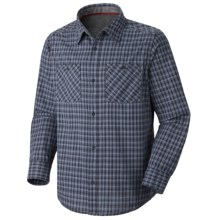 Mountain Hardwear McHenry Plaid Shirt - Long Sleeve (For Men) in India Ink - Closeouts