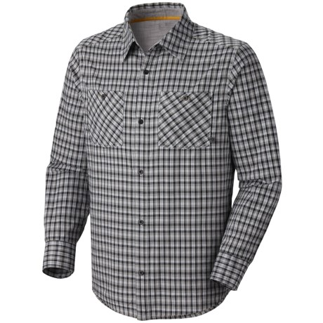 Mountain Hardwear McHenry Plaid Shirt - Long Sleeve (For Men) in Titanium