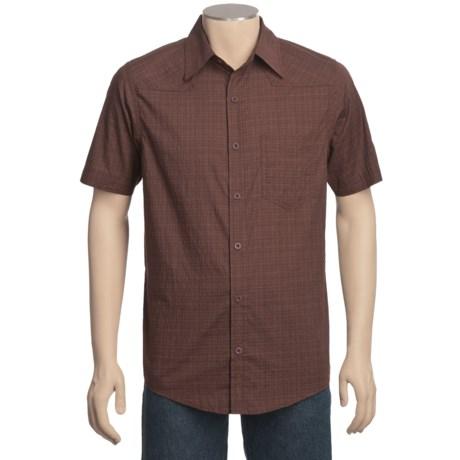 Mountain Hardwear McLane Shirt - Organic Cotton, Short Sleeve (For Men) in Redwood