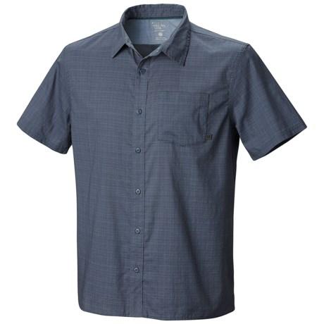 Mountain Hardwear McLane Shirt - Organic Cotton, Short Sleeve (For Men) in Zinc