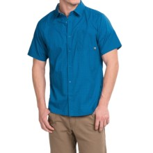 Mountain Hardwear Mclane Shirt - Short Sleeve (For Men) in Blue Jay - Closeouts