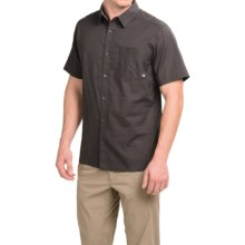 Mountain Hardwear Mclane Shirt - Short Sleeve (For Men) in Shark - Closeouts