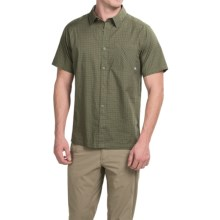 Mountain Hardwear Mclane Shirt - Short Sleeve (For Men) in Stone Green - Closeouts