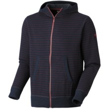 Mountain Hardwear Melbu Stripe Hoodie Sweatshirt - Zip (For Men) in Abyss - Closeouts