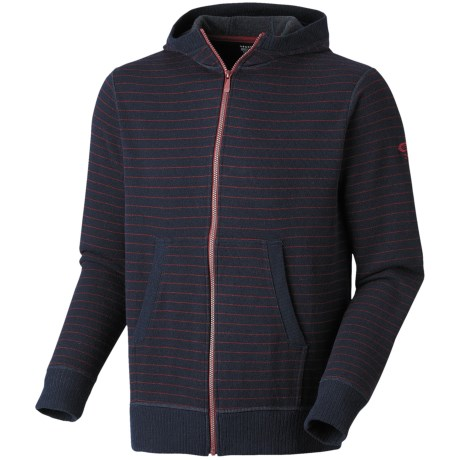 Mountain Hardwear Melbu Stripe Hoodie - Zip (For Men) in Abyss