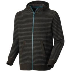 Mountain Hardwear Melbu Stripe Hoodie - Zip (For Men) in Duffel