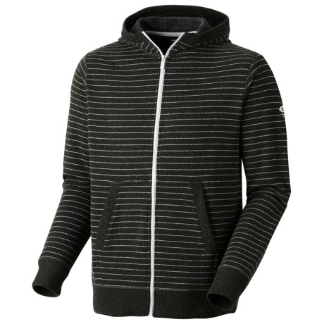 Mountain Hardwear Melbu Stripe Hoodie - Zip (For Men) in Duffel