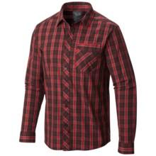 Mountain Hardwear Merlane Shirt - Long Sleeve (For Men) in Cherrybomb - Closeouts