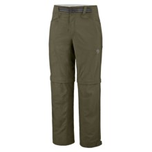 Mountain Hardwear Mesa Backpacking Pants - UPF 50, Convertible (For Men) in Caper - Closeouts