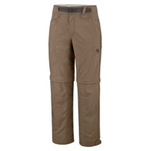 Mountain Hardwear Mesa Backpacking Pants - UPF 50, Convertible (For Men) in Cigar - Closeouts