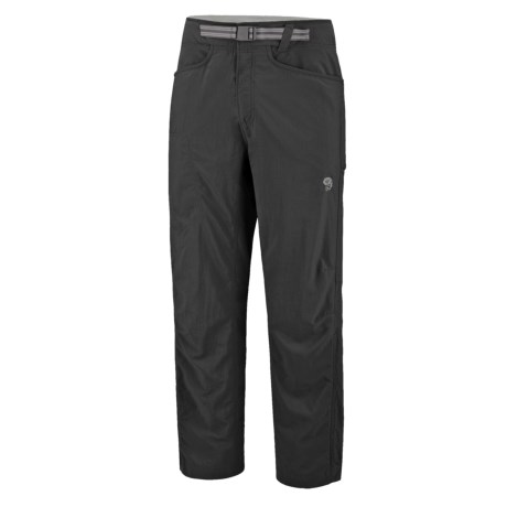 Mountain Hardwear Mesa Backpacking Pants - UPF 50 (For Men) in Cigar